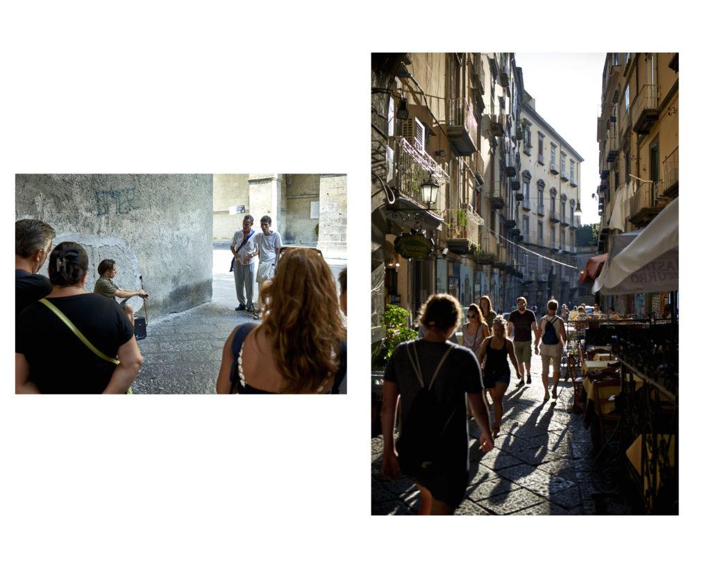 Streetfotografie in Neapel