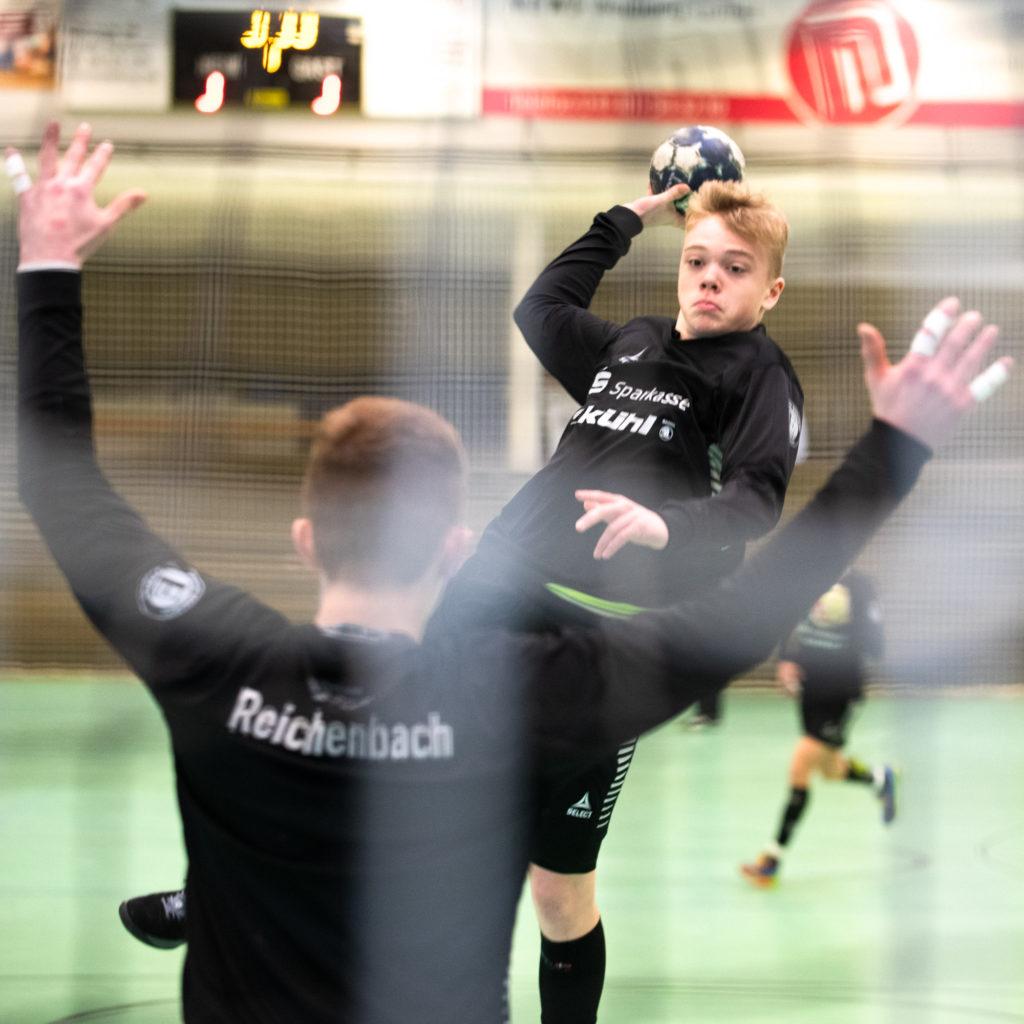 Handball in der Sportfotografie