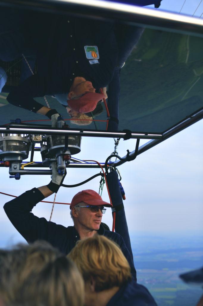Ballonfahrt mit der Nikon D850 aufgenommen