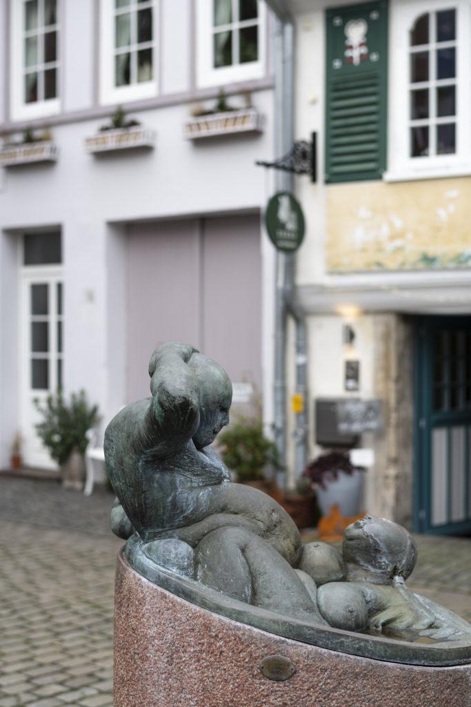 Statue im Schnoorviertel