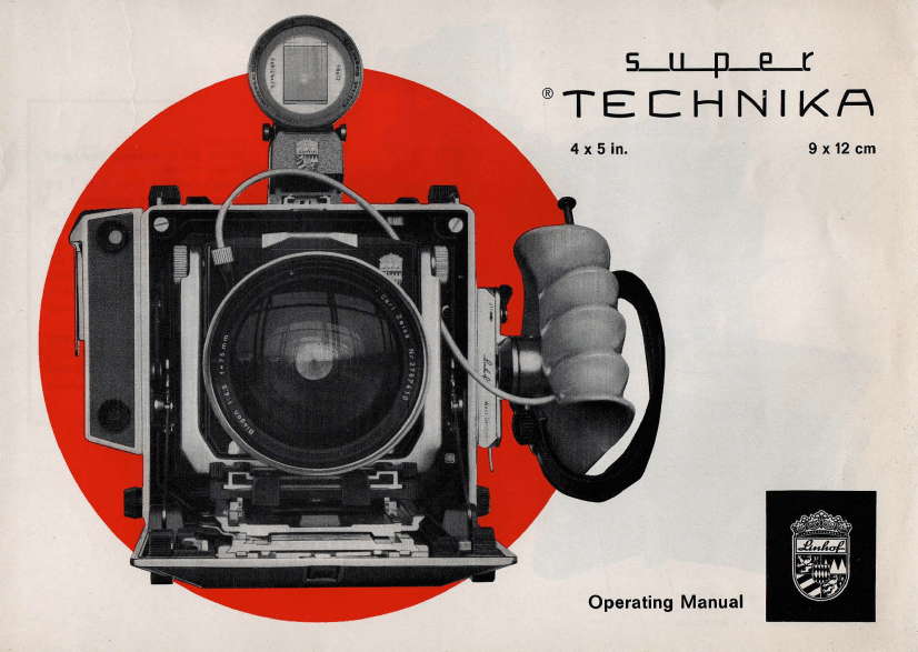 Linhof Super Technika V Instruction Manual (1969, English)