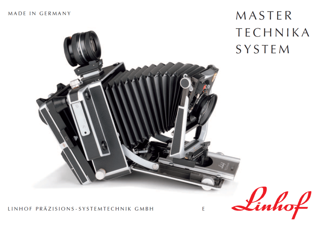 Manual Linhof Master Technika classic 2000 (english)