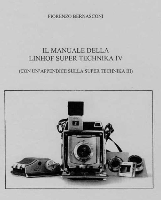 manuale della linhof super technika IV