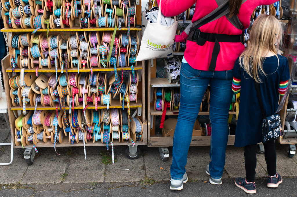 holländischer Stoffmarkt