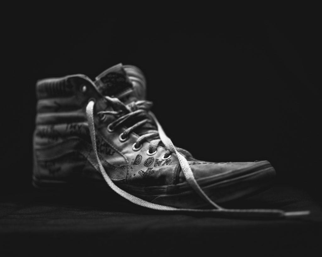 Schuh Produktfotografie