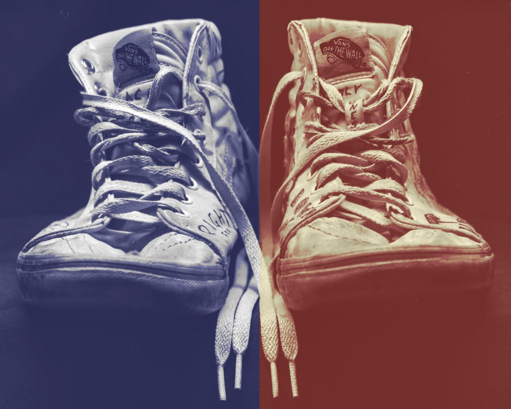 Andy Warhol Look Schuhe