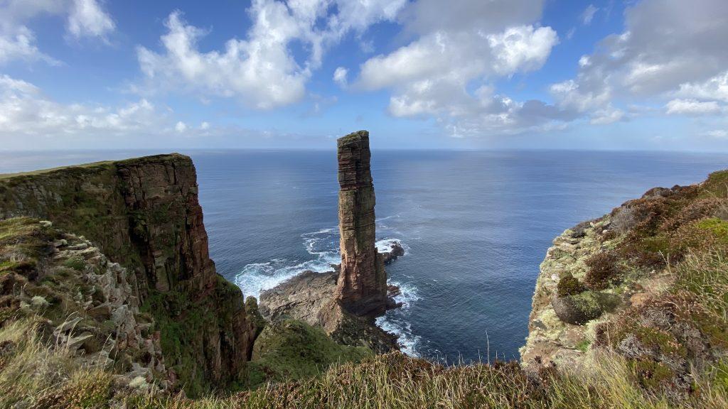 Highlands Schottland Orkneys old man of Hoy