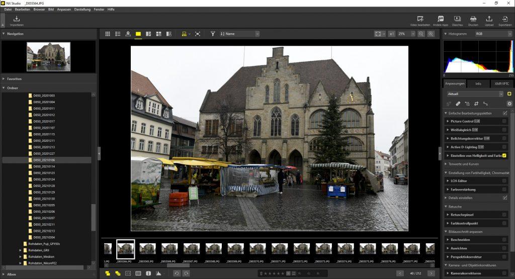 NX Studio Nikon Capture-NXD ViewNX